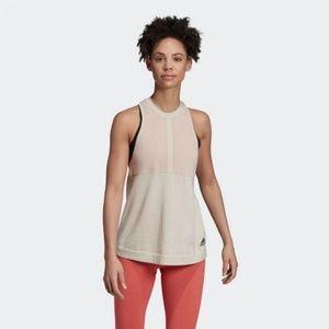 adidas Tops - ADIDAS DP3888 Z.N.E. Primeknit TANK Top Raw White